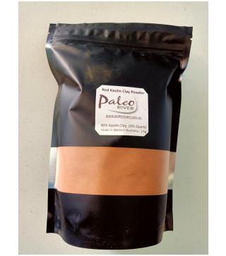 West Australian Red Ochre Kaolin Clay And Red Quartz Powder Mix – 1Kg