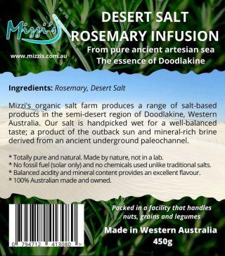 Rosemary Desert Salt Infusion – 450g