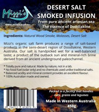 Smoked Desert Salt Infusion – 450g